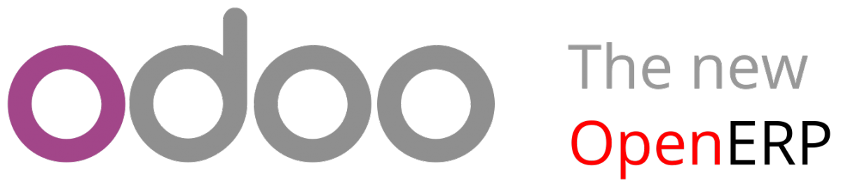 oodo and openERP logos
